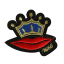 S0050 Crown Mouth Red Lip Patch 6x7cm