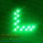 ไฟเลี้ยว LED SMD 14 ดวง กระพริบ 1 Step สีเขียว