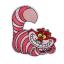 L0045 Cheshire Cat Disney 7.5x8cm