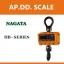 เครื่องชั่งดิจิตอล เครื่องชั่งแขวน 1T ความละเอียด 0.5Kg ยี่ห้อ NAGATA รุ่น HB-33 (ผ่านการตรวจรับรองจาก สำนัก ชั่ง ตวง วัด) thumbnail 1