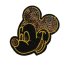 M0019 Gloden Sequins Mickey 7x6.6cm