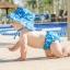 กางเกงผ้าอ้อมว่ายน้ำ Bumkins รุ่น Swim Diapers and Hat thumbnail 6