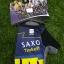 ถุงมือปั่นจักรยานโปรทีม Saxo Tinkoff : GP150030